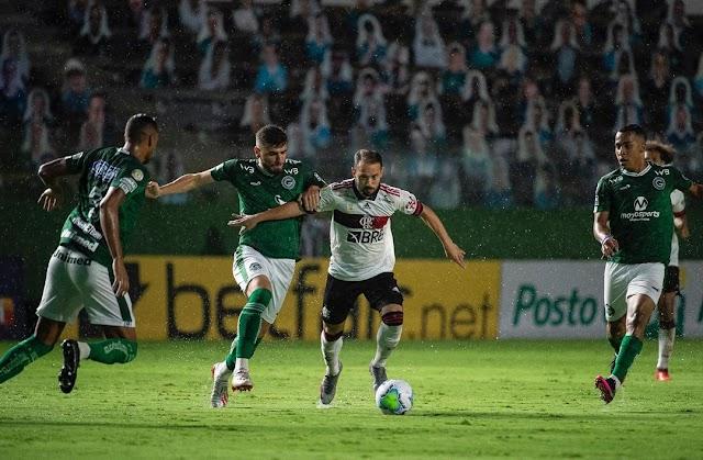Goiás perde para o Fla e fica a 6 pontos de deixar o Z-4