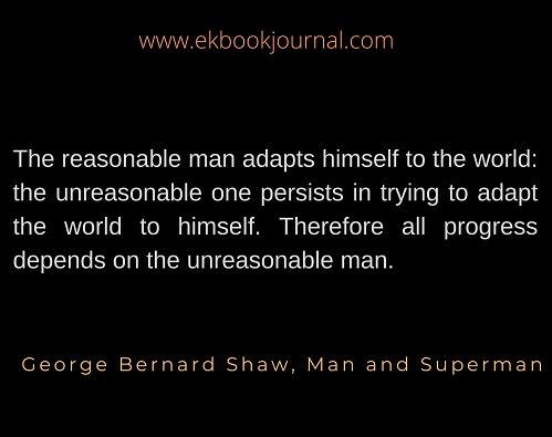 english quote | george bernard shaw |
