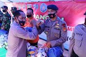 Dapur Umum TNI-Polri bersama Pemprov Lampung Resmi Ditutup