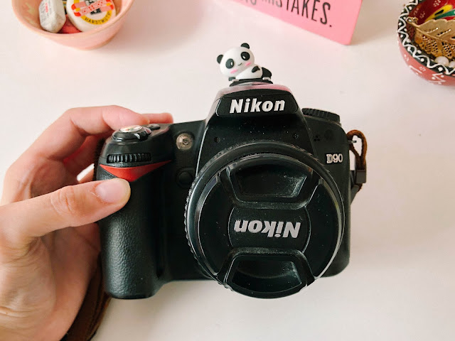Aliexpress stationery products haul review selection  - panda flash camera protector