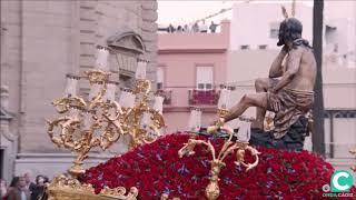 Cristo de la Humildad y Paciencia entrando en la SI Catedral. Semana Santa Cádiz 2019