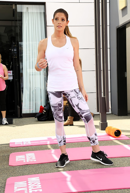 Actress, Model, @ Ashley Greene - Muscle Milk Smoothies launch in Los Angeles
