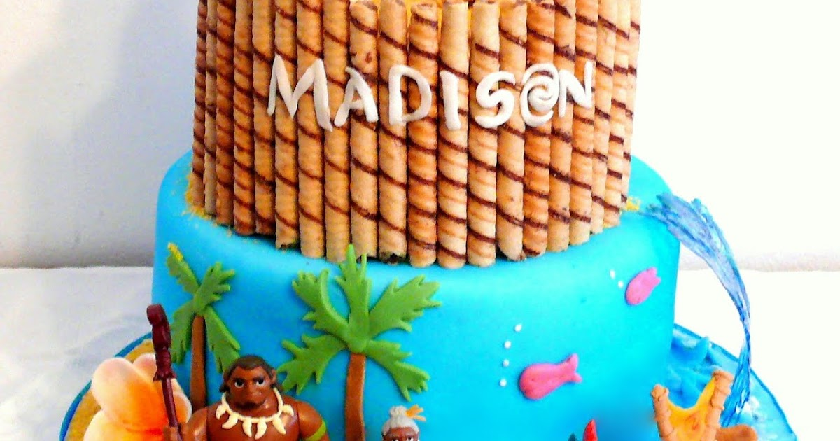 Katys Kitchen Moana Cake