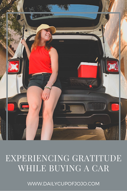 Experiencing Gratitude While Buying a Car