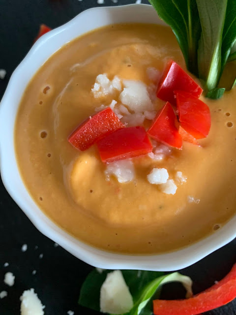 Wärmende Süßkartoffel-Kokos-Suppe, Rezept, glutenfrei, vegan, schnell, einfach, Tropicai, Kokosmus, Kokosnuss, Süßkartoffel, Herbstgerichte