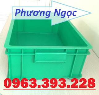 Thùng nhựa đặc công nghiệp, thùng nhựa đặc B4 có nắp, khay nhựa đựng ốc vít 81627002_516625465618801_5007449619618070528_n