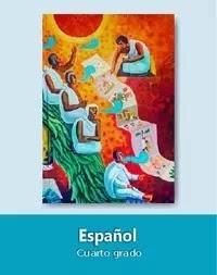 Libro de texto  Español Cuarto grado 2020-2021