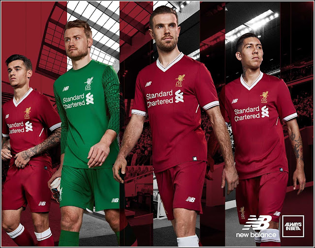 Jual Beli Jersey Liverpool Home Kit Musim 2017-2018 Baru