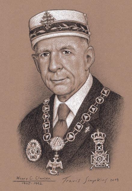 Henry C. Clausen, 33°. Past Sovereign Grand Commander. Scottish Rite, SJ. by Travis Simpkins