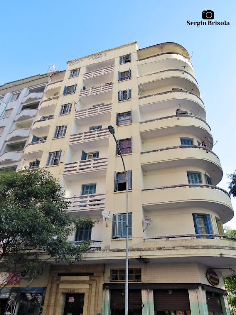 Vista ampla do Edifício João Ferraresi - Santa Cecília - São Paulo