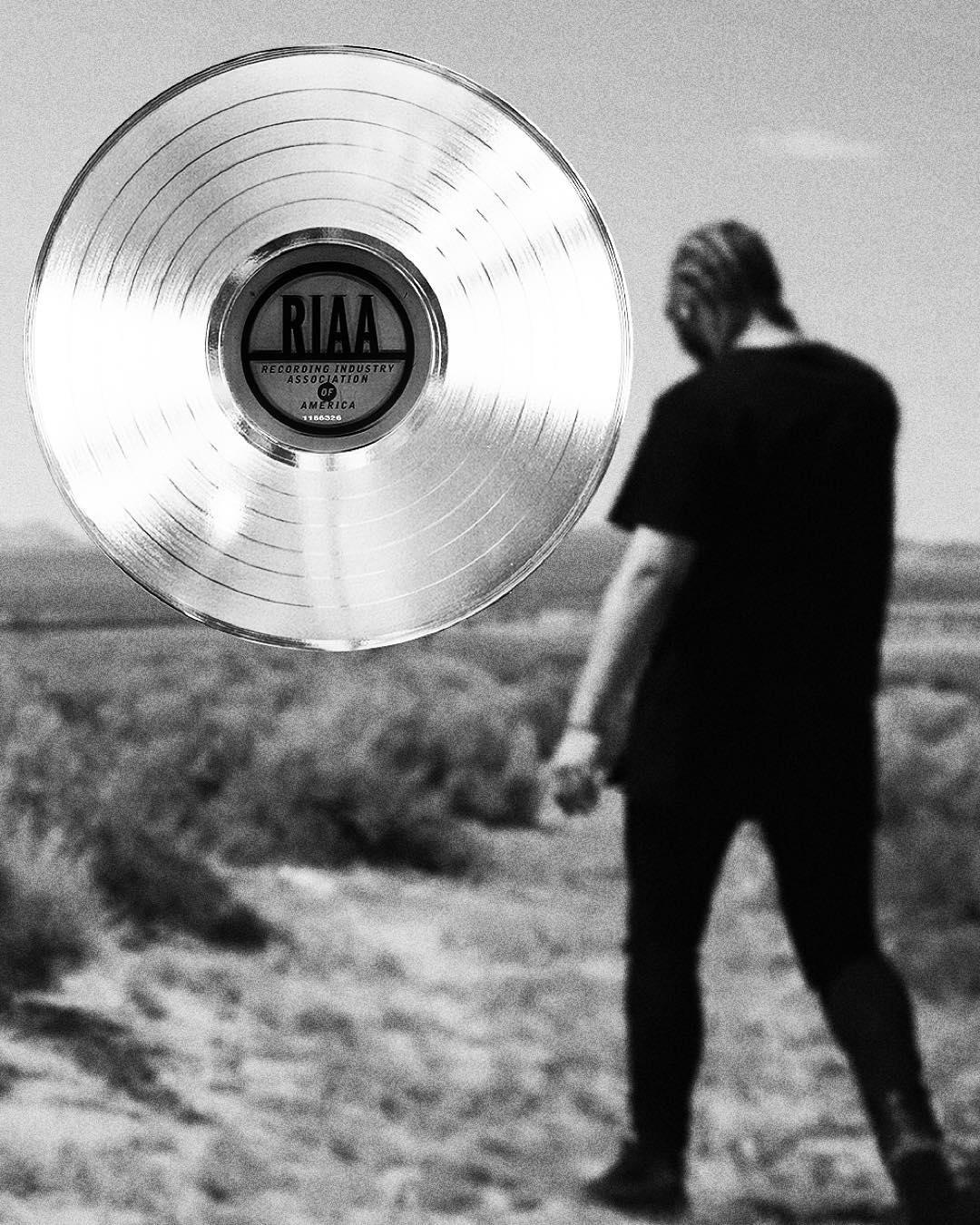 "Post Malone Single: Disarray Magazine: Post Malone's ""White Iverson"" Certified"