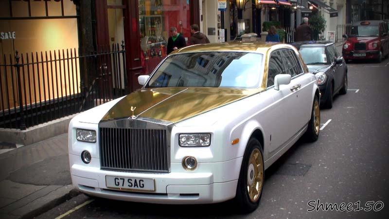 Cadillac Ciel Price >> Rolls Royce Phantom Solid Gold Car – $8 Million ...