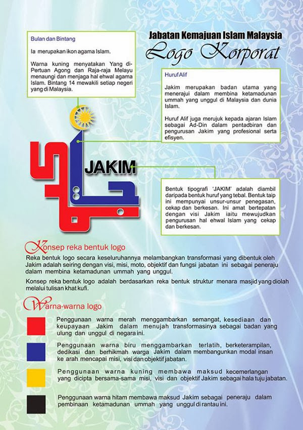 Design baru logo JAKIM