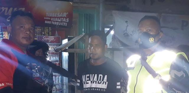 Gegara Nyalip Geng Motor, Pemuda di Jambi Dibacok