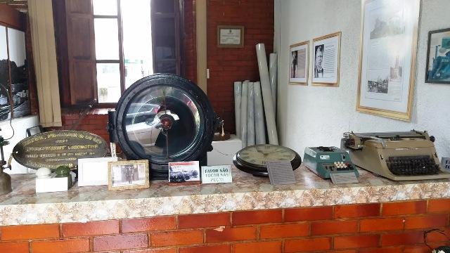Museu na antiga estação ferroviária de Vassouras
