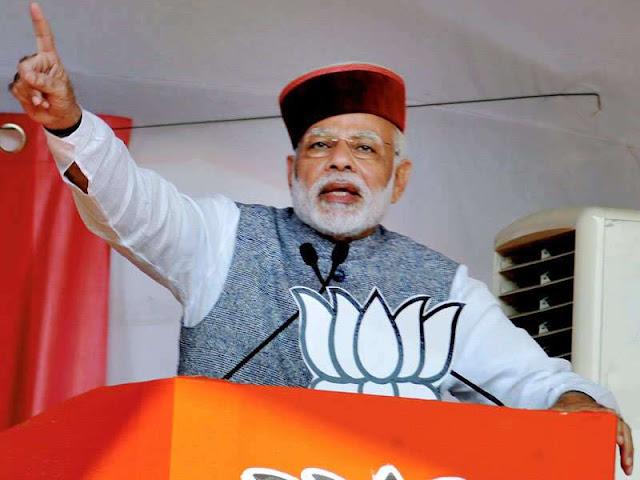Modi wearing Himachali Topi