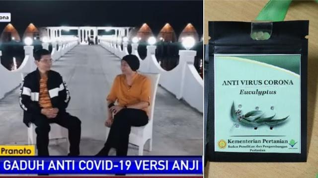 Jika Anji dan Hadi Dipenjara, Bagaimana dengan Mentan dan Artis yang endorse Kalung Anti-Corona?