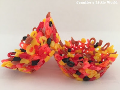 Melted Hama bead crafts