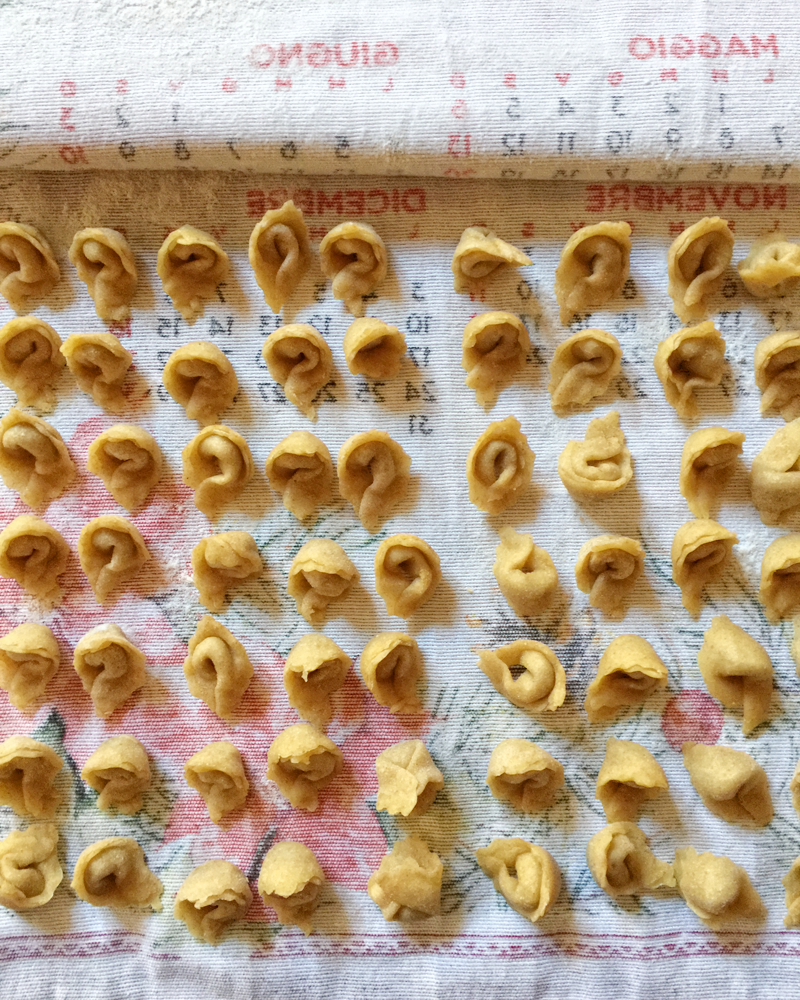 Cappelletti di Manzo in Brodo