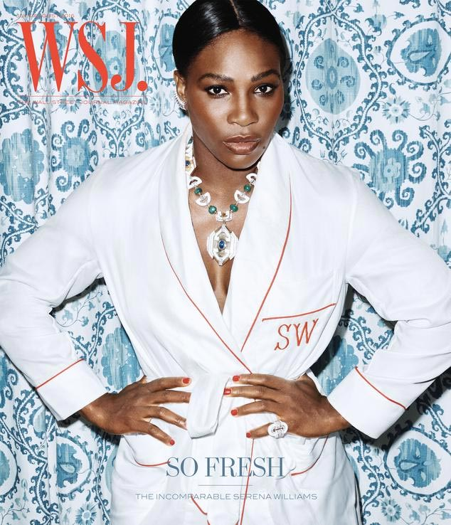 Photos: Serena Williams covers front page of WSJ Magazine