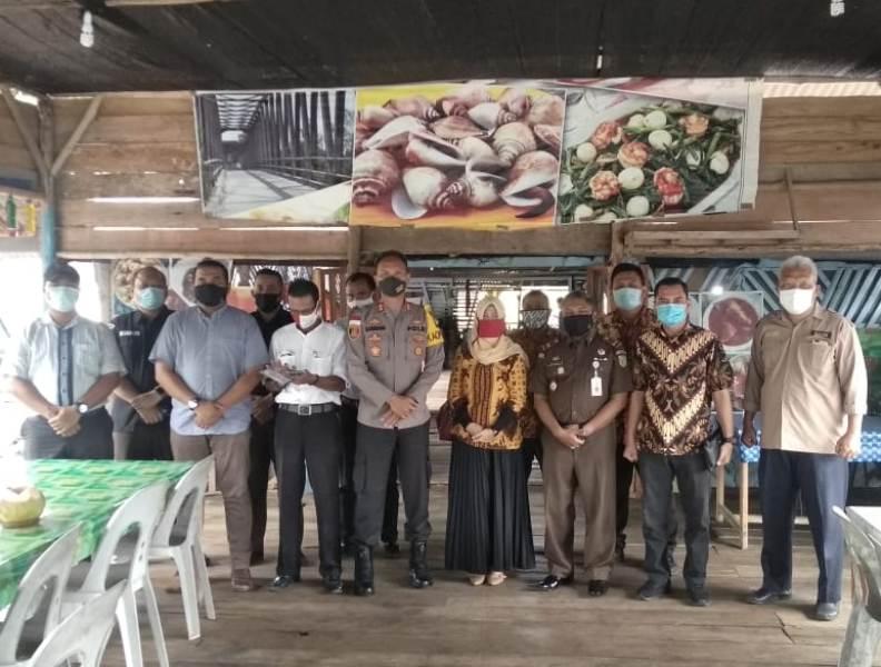 Rapat Koordinasi Kesiapan Jelang Pilkada 2020 oleh Polres Bintan, Bawaslu, KPU dan Kejari Bintan