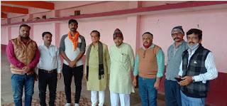 कृषि बिल के समर्थन में निकलने वाली रैली को लेकर थांदला मंडल में भाजपा की बैठक आयोजित की गई