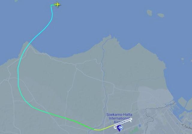 Kronologi Sriwijaya Air Sebelum Hilang Kontak, ATC Heran: Kenapa Mengarah ke Barat Laut?