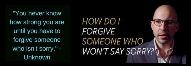 [Forgive Tips ] How To Forgive Someone Who Isn't Sorry | 2020