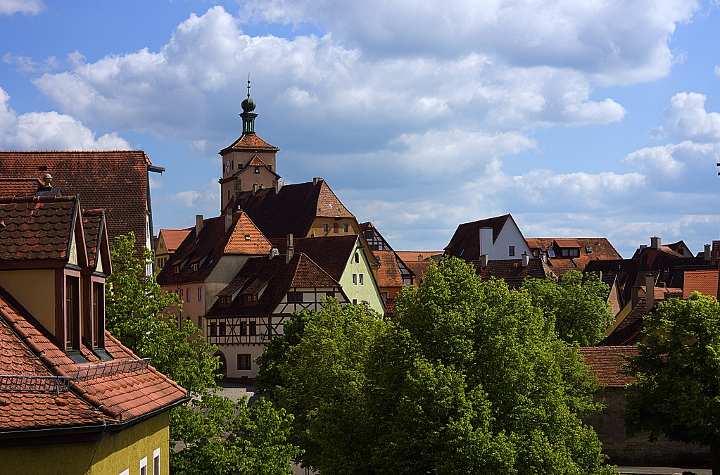 #276 Schneider-Kreuznach Componon-S f2.8 50mm – 1€ Projekt – Über den Dächern von Rothenburg ob der Tauber