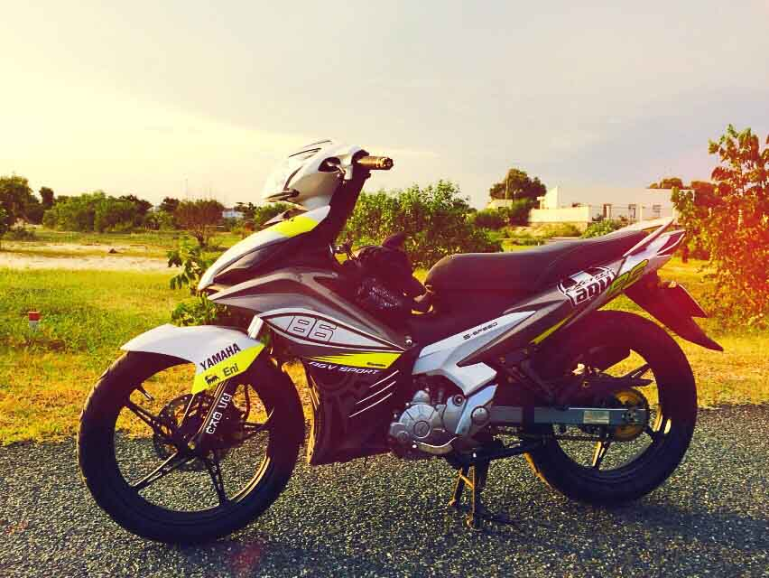 Best cutting sticker for yamaha jupiter mx spark exciter and 135 lc