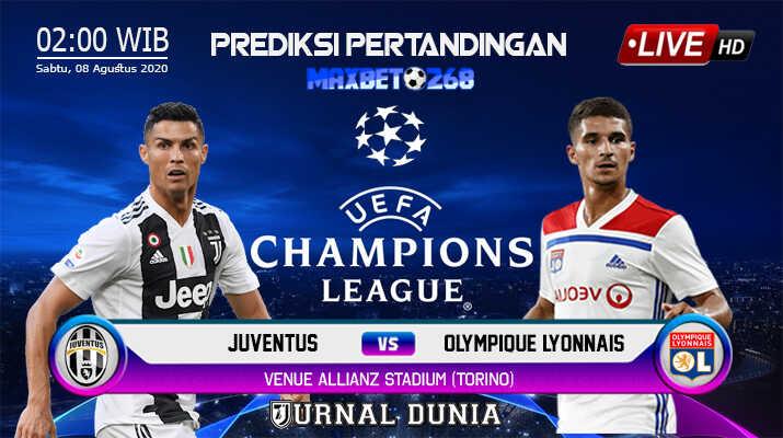 Prediksi Juventus Vs Lyon 08 Agustus 2020 Pukul 02.00 WIB