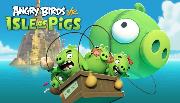 RESOLUTION GAMES RELEASES ANGRY BIRDS VR: ISLE OF PIGS ONTO