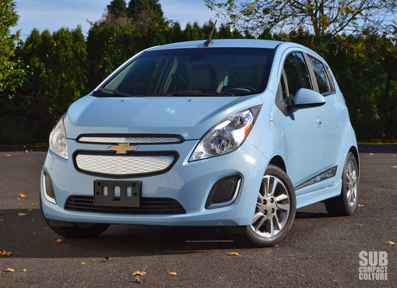 review 2 2014 chevrolet spark ev subcompact culture the small car blog. Black Bedroom Furniture Sets. Home Design Ideas