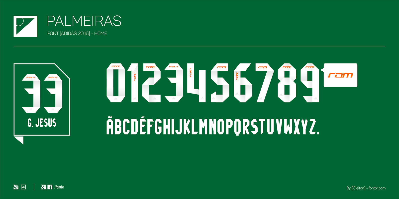 Palmeiras  Adidas 2016  - Home 69f604042a684