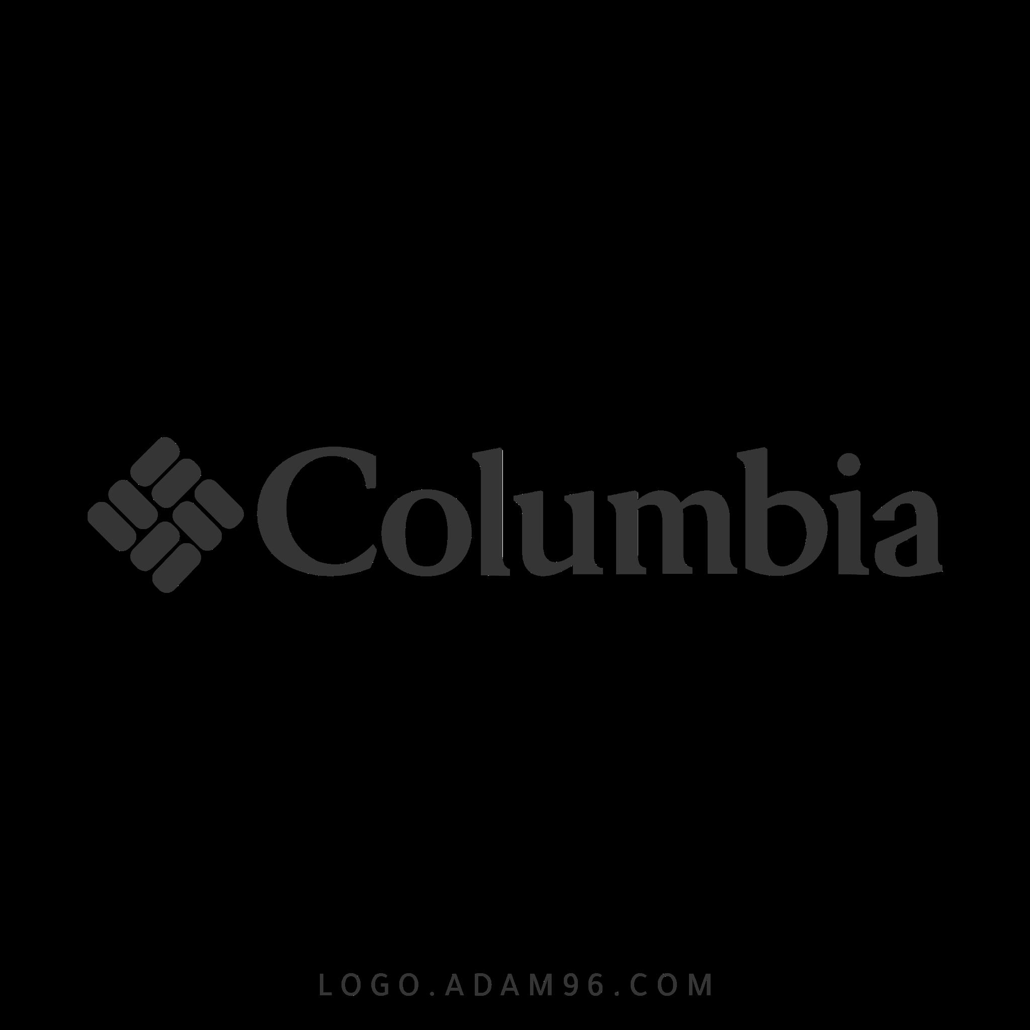 تحميل شعار شركة الموضة كولومبيا سبورتزوير لوجو شفاف Logo Columbia PNG