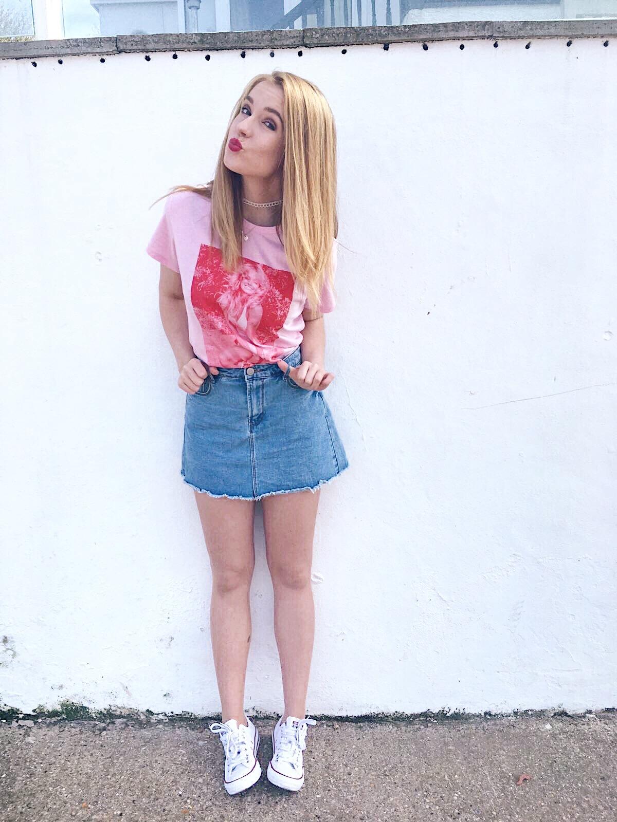 Pink and Denim