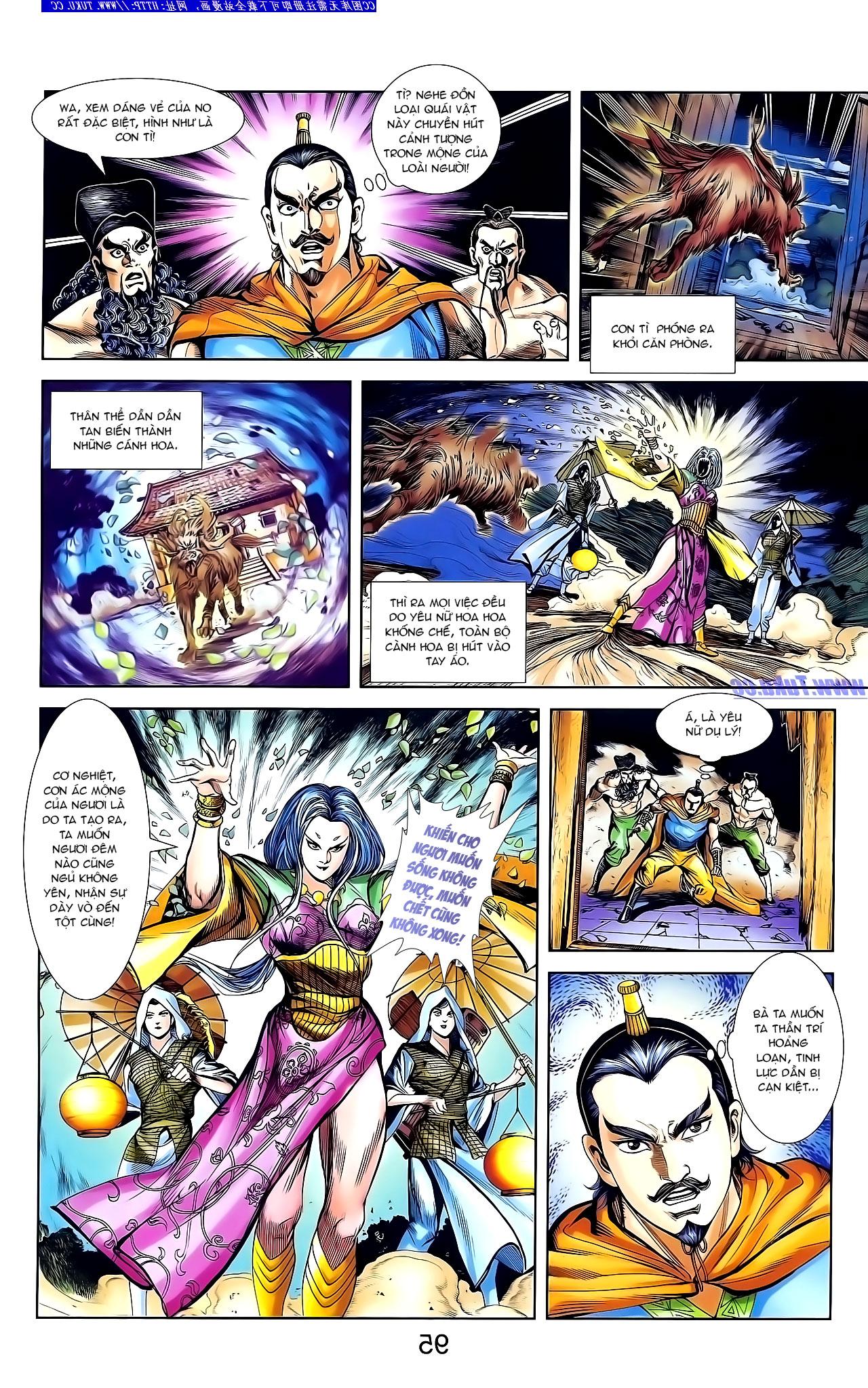 Cơ Phát Khai Chu Bản chapter 136 trang 8