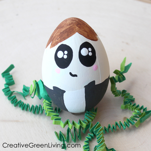 Han Solo Star Wars easter egg decorating