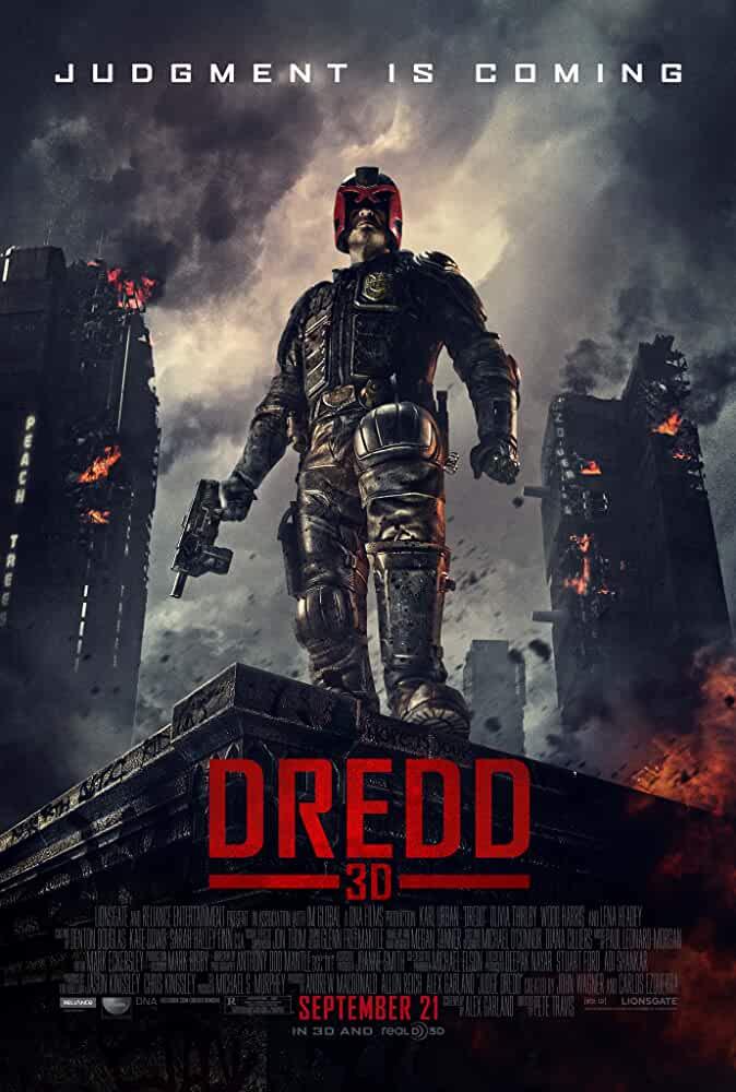 Dredd 2012 720p 750MB BRRip
