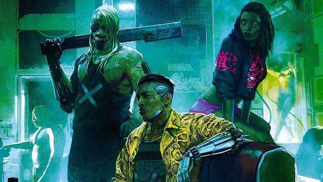 cyberpunk 2077 scene