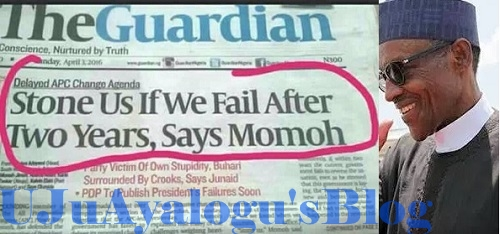 """""""Stone Us If We Fail After 2 Years"""" - APC Chieftain, Tony Momoh"""