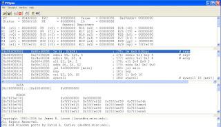 memahami prosesor MIPS bekerja dengan simulator PCSPIM