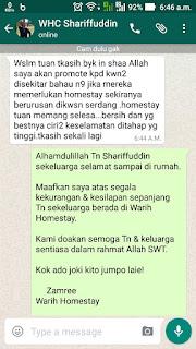 Warih-Homestay-Testimoni-En-Shariffuddin