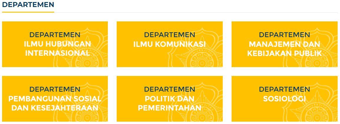 Akreditasi A, Ini 6 Program Studi/Jurusan di FISIPOL Universitas Gadjah Mada