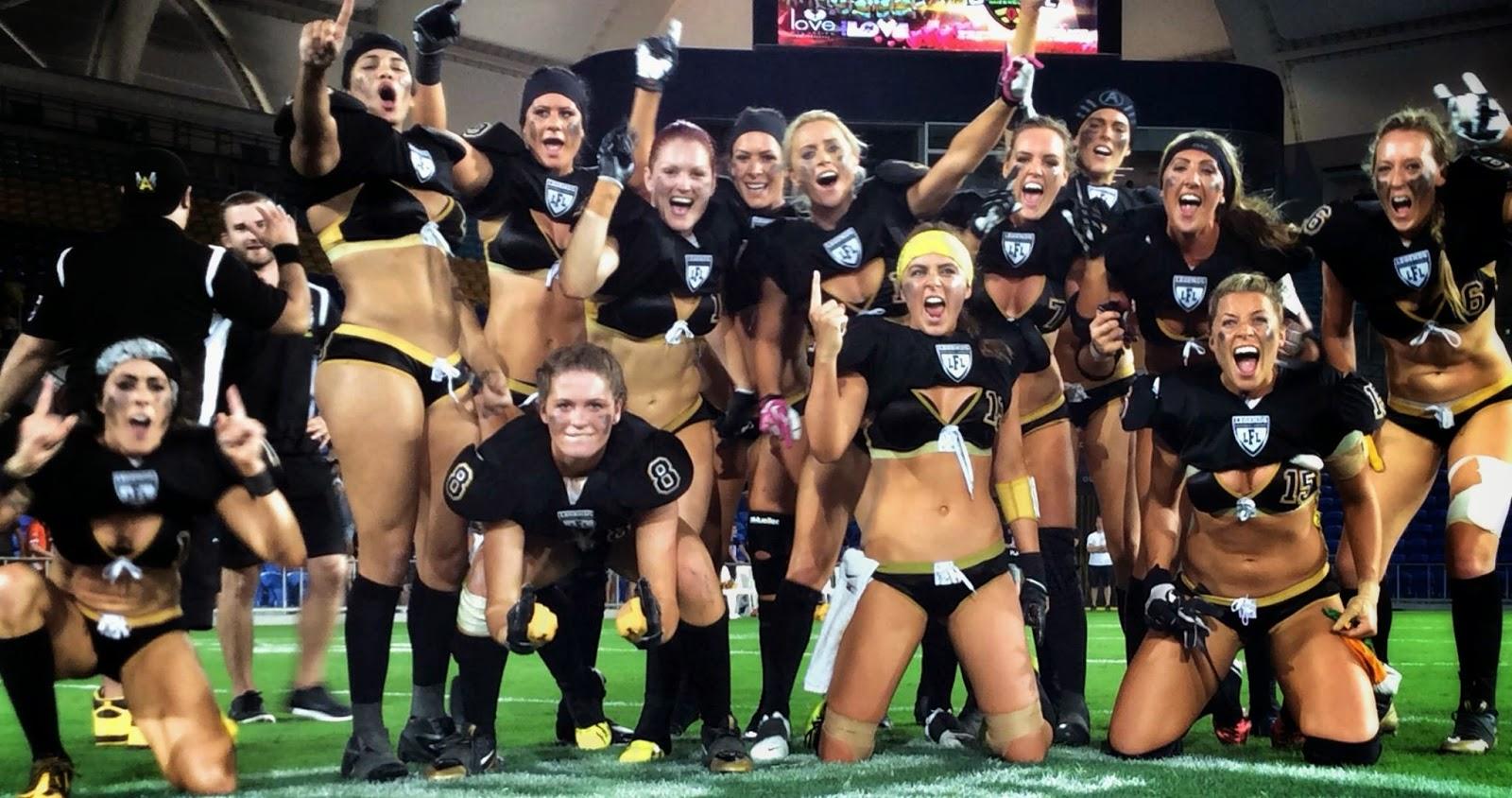 Lingerie Bowl La Liga De Las Chicas Rudas Y Guapas Del Futbol Americano