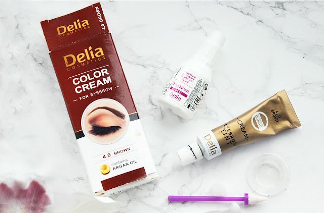 Delia | Barva na obočí s arganovým olejem