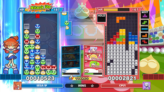 Puyo Puyo Tetris 2 gameplay