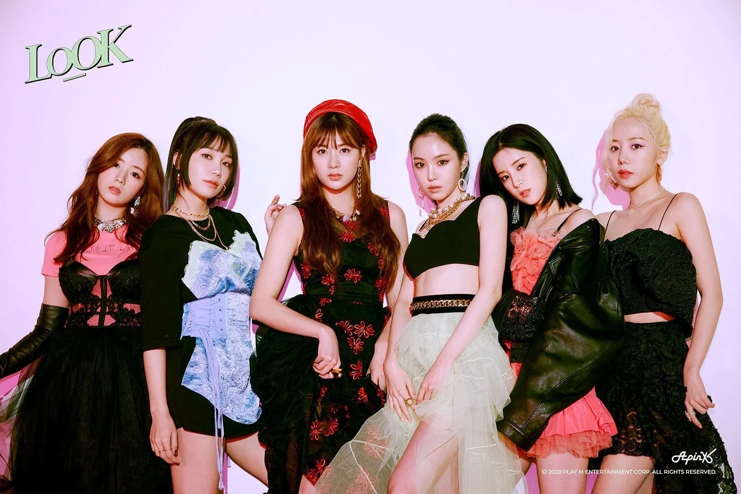 Apink Release Three Different Concepts in 'LOOK' Teaser Comeback