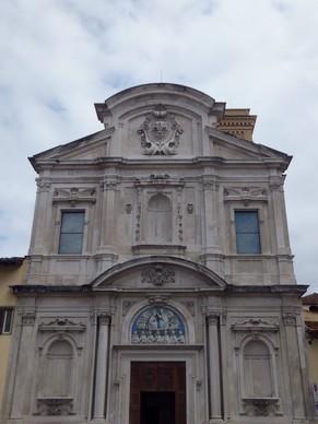 florence toscane église ognissanti