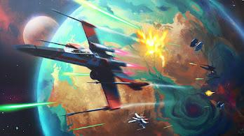 X-Wing Starfighter, Star, Wars, 4K, #6.2530